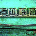 Vintage Ford Truck Logo  by Terry DeLuco
