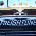 Vintage Freightliner  by Andrew Karp