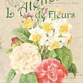 Vintage French Flower Shop 1 by Debbie DeWitt