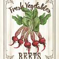 Vintage Fresh Vegetables 1 by Debbie DeWitt