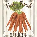 Vintage Fresh Vegetables 3 by Debbie DeWitt