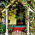 Vintage Garden Arbor Gate by Diann Fisher