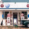 Vintage Gas Station by Jason Glerum