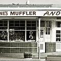 Vintage Gas Station by Marilyn Hunt