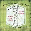 Vintage Golf Green 1 by Debbie DeWitt