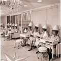 Vintage Hair Salon Ladies Hairdryers by Mindy Sommers
