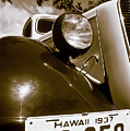 1937 Ford Pickup Truck Maui Hawaii by Jim Cazel