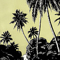 Vintage Hawaii Palms by Hawaiian Legacy Archive - Printscapes