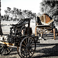 Vintage Horse Drawn Cart by Gene Parks