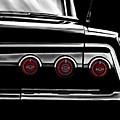 Vintage Impala Black And White by Douglas Pittman