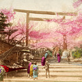 Vintage Japanese Art 25 by Hawaiian Legacy Archive - Printscapes