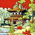 Vintage Japanese Art 7 by Hawaiian Legacy Archive - Printscapes