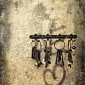 Vintage Keys by Diana Rajala