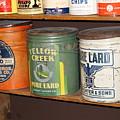 Vintage Lard Can by Colleen Cornelius