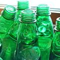 Vintage Lemonade Glass Bottles by Yali Shi