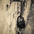 Vintage Lock by Adam Nicolaou
