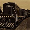 Vintage Locomotive 1256 by Dale Kauzlaric