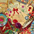Vintage Love Letters by MGL Meiklejohn Graphics Licensing