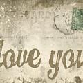 Vintage Love Letters by Edward Fielding
