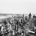 Vintage Lower Manhattan Skyscraper Photo - 1913 by PhotographyAssociates