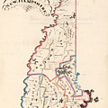 Vintage Map Of New Hampshire - 1819 by CartographyAssociates