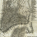 Vintage Map Of New York City - 1842 by CartographyAssociates