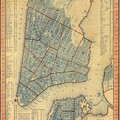 Vintage Map Of New York City - 1846 by CartographyAssociates