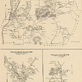 Vintage Map Of Spofford And Chesterfield Nh - 1892 by CartographyAssociates