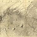 Vintage Map Of The Colorado River - 1858 by CartographyAssociates