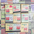 Vintage Matchbooks by Edward Fielding