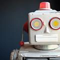 Vintage Mechanical Robot Toy by Edward Fielding
