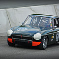 Vintage Mg Race Car by Mike Martin