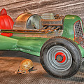 Vintage Midget Racer by Mike Martin