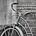 Vintage Montgomery Ward Bicycle 6 - B/w by Greg Jackson
