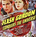 Vintage Movie Posters, Flash Godon Conquers The Universe by Esoterica Art Agency