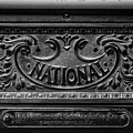 Vintage National Cash Register by Edward Fielding