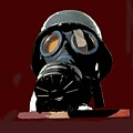 Vintage Nazi Gas Mask Barry Sadler Collection Tucson Arizona 1971-2016 by David Lee Guss