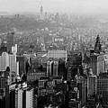 Vintage New York City Panorama 1930 by Mountain Dreams