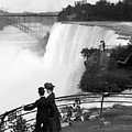 Vintage Niagara Falls - View From Goat Island - 1908 by War Is Hell Store