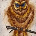 Vintage Owl by Tanya Reynolds