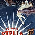 Vintage Petrole Stella Poster by Henri Boulanger