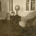 Vintage Photograph Farmhouse Interior by Reyna Bauer