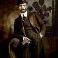 Vintage Photograph Of Vincent Van Gogh - Taken 13 Years After His Death by Jose A Gonzalez Jr
