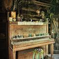 Vintage Piano  by Saija Lehtonen