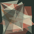 Vintage Polygon Pattern by Frank Ramspott