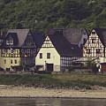 Vintage Postcard Look Of Spay Germany by Teresa Mucha