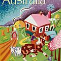 Vintage Poster - Australia by Vintage Images