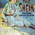 Vintage Poster - The Sheik by Vintage Images