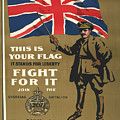 Vintage Poster - This Is Your Flag by Vintage Images