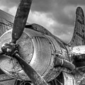 Vintage Prop - Black And White by Gill Billington